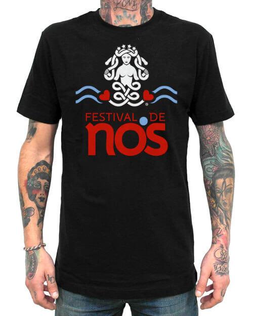 camiseta festival de nos